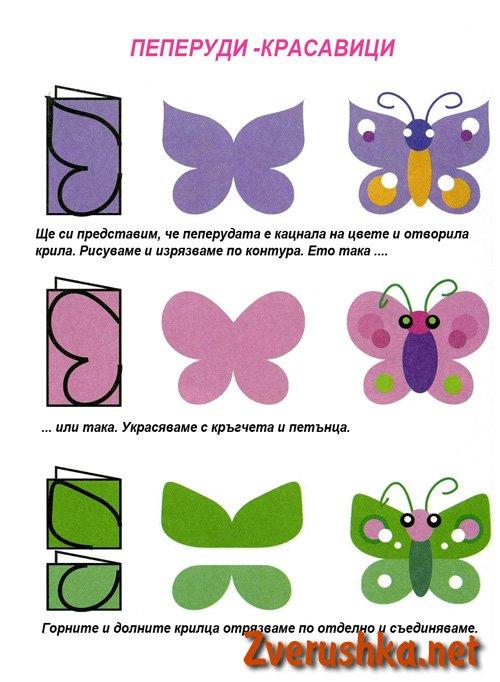 Апликация пеперуди