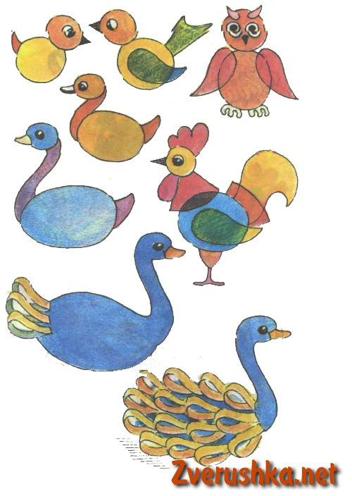 Хартиени птици