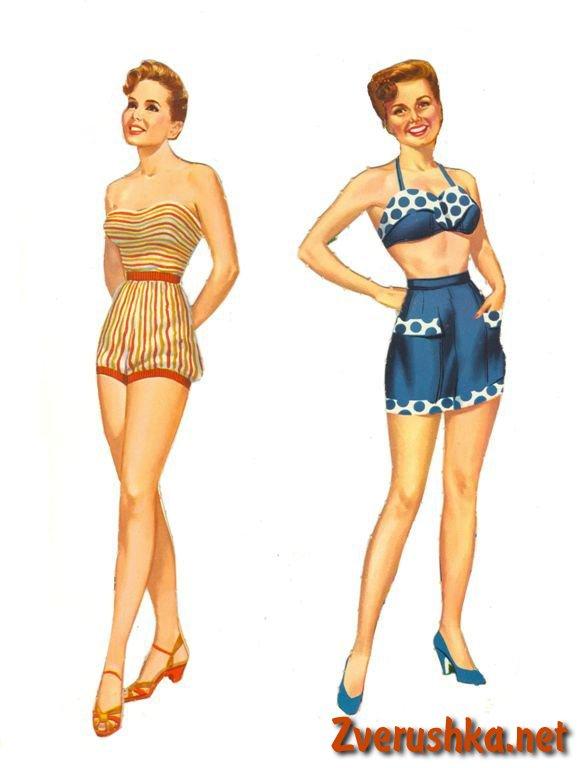 Хартиени кукли Debbie Reynolds