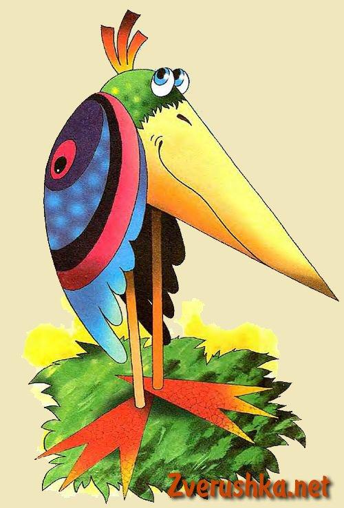Играчки от хартия птица