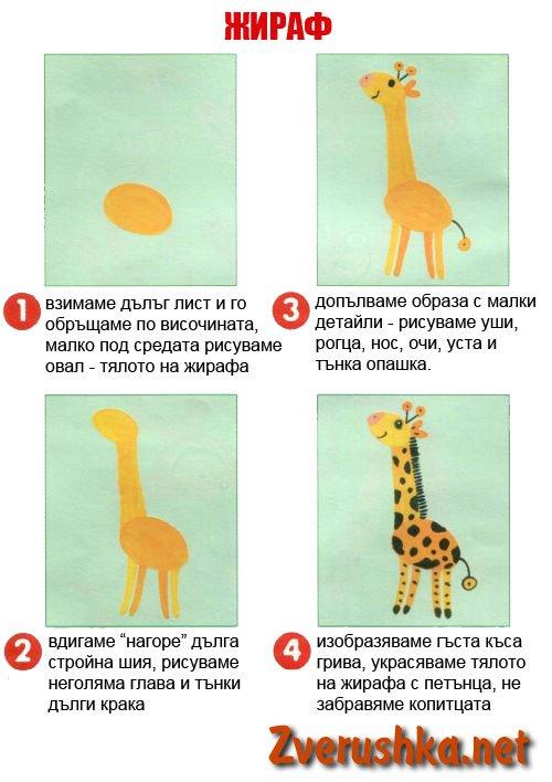 Рисуваме жираф