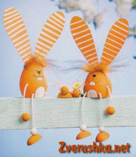 Идеи за Великден. Зайчета