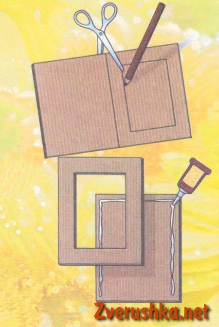Как сделать рамку самодельно для