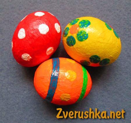 Декоративни яйца за Великден