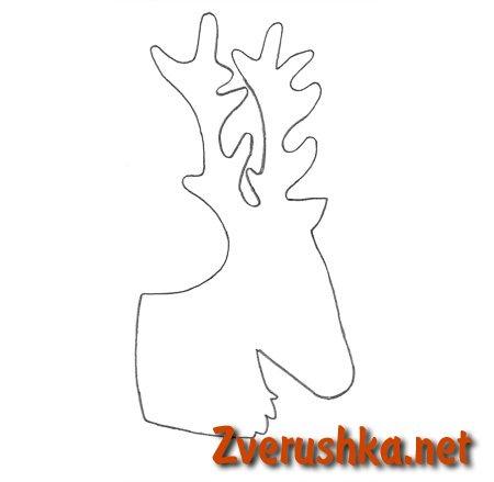 шаблон елен