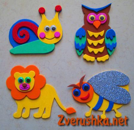 играчки от фоамиран