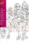 Книга за оцветяване: Рисувам с Winx