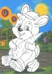 Весели апликации и картинки за оцветяване в детската градина №1
